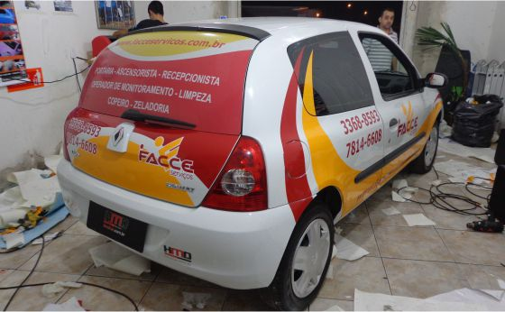 HMD Car Envelopamento